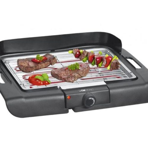 Clatronic Barbeque-Table Grill BQ 3507 black