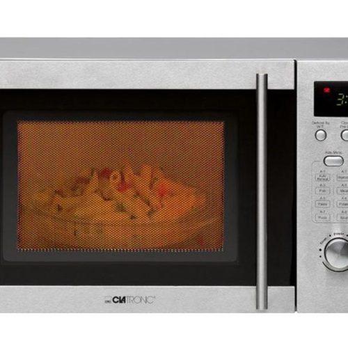 Clatronic MWG 778 U inox Microwave with grill 20L