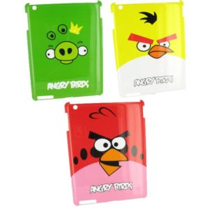 Clip-On Hard Case for iPad 2 Angry Birds