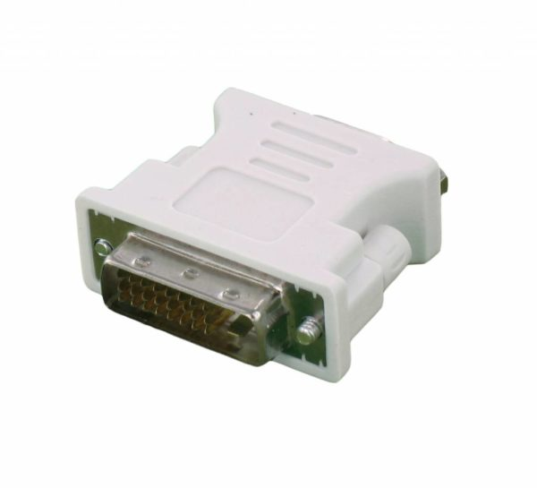 DVI 24 +1 Male to VGA Female Adapter