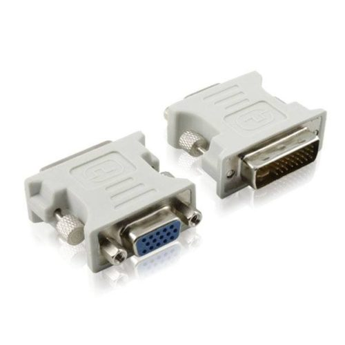 DVI 24 +5 Male to VGA Female Adapter