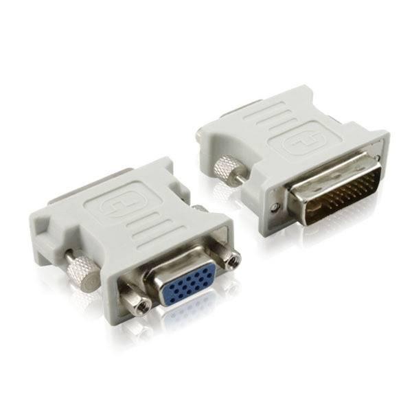 DVI 24 +5 Male to VGA Female Adapter