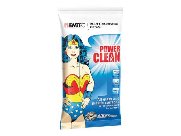 EMTEC Multi-surface wipes, Wonder Woman