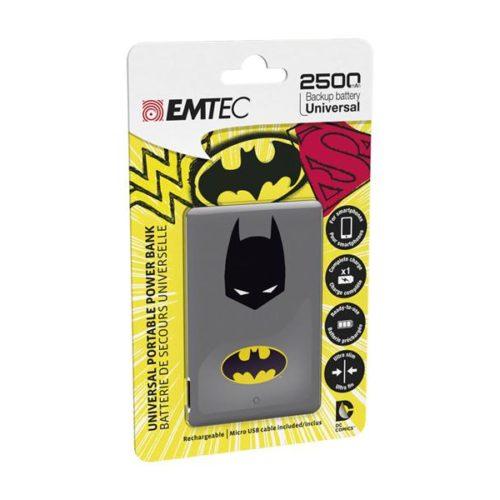 EMTEC Power Bank 2500mAh Justice League (Batman)