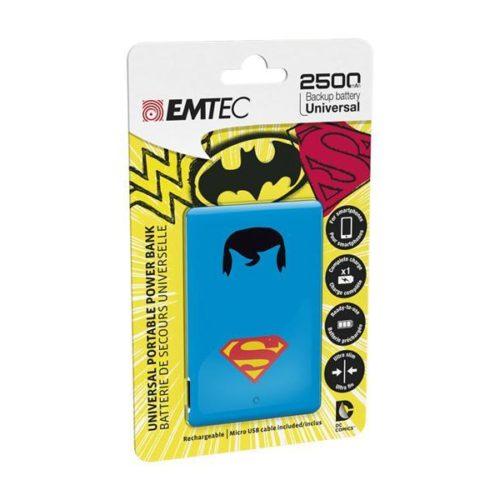 EMTEC Power Bank 2500mAh Justice League (Superman)