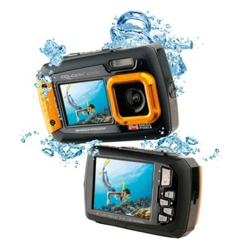 Easypix Aquapix W1400 Active Underwater camera (Orange)