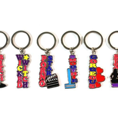 Erotic Key Rings - Key holder (6x6 different motives = 36 Pieces) SET-336