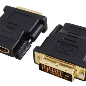 HDMI Female to DVI 24 +1 Male Adapter
