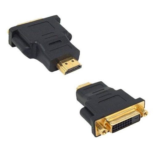 HDMI Male to DVI 24 +1 Female Adapter