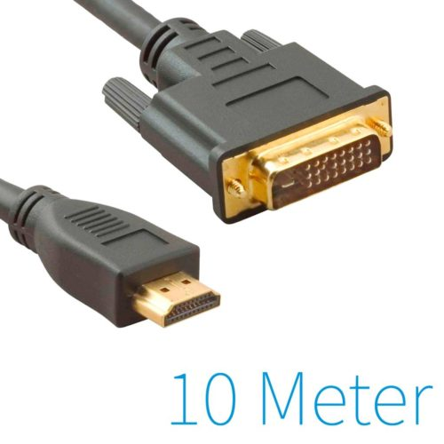 HDMI to DVI 24 +1 Cable 10 Meter