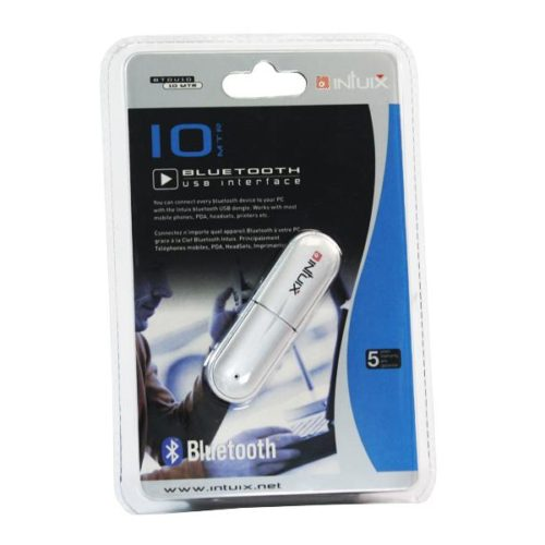 INTUIX Bluetooth USB Adapter 10m (IXCOBTDU10)