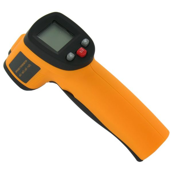 Infrared Thermometer with Laser pyrometer