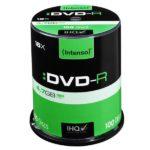 Intenso DVD-R 4,7 GB 16x Speed - 100pcs Cake Box