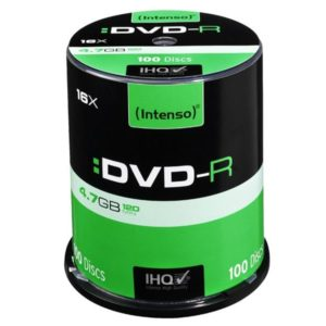 Intenso DVD-R 4,7 GB 16x Speed - 100pcs Cake Box
