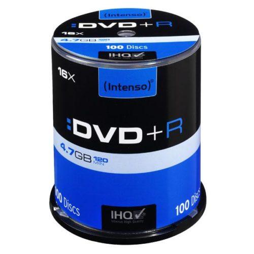 Intenso DVD+R 4,7 GB 16x Speed - 100pcs Cake Box