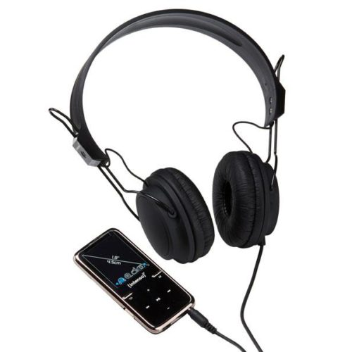 Intenso MP3 Videoplayer 8GB SCOOTER+On-Ear Headphones Black