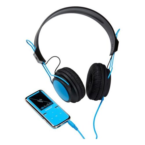 Intenso MP3 Videoplayer 8GB SCOOTER+On-Ear Headphones Blue