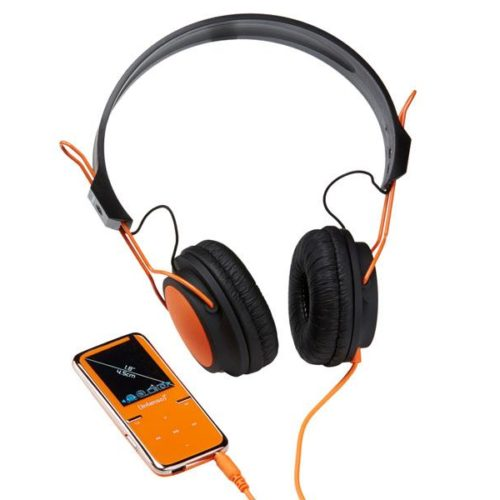 Intenso MP3 Videoplayer 8GB SCOOTER+On-Ear Headphones Orange
