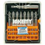 Jakemy TOOLS JM-TP031 9 pcs Cross Bit Set 65mm PZ2