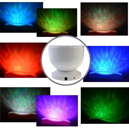 LED RGB Wave Projector