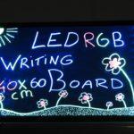 LED Writing board 60 x 40 cm