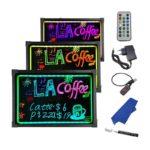 LED Writing board 80 x 60 cm
