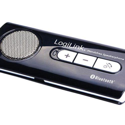 LogiLink Bluetooth Handsfree Speakerphone for car (BT0014) black-silver