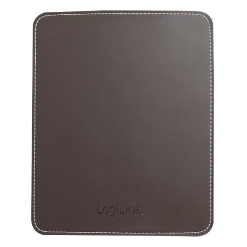 LogiLink Mousepad in leather design, Brown (ID0151)