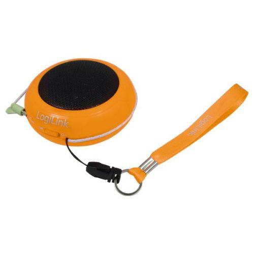 LogiLink mini portable speaker hamburger orange (SP0016)
