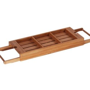 MK Bamboo LIVERPOOL - Bath Tray, adjustable