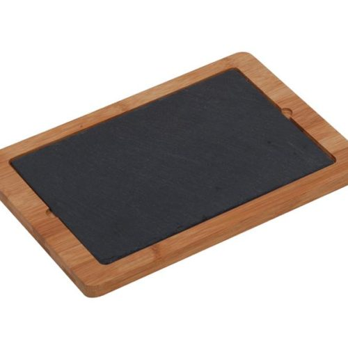 MK Bamboo NÜRNBERG - Cheese Tray with Slate Board