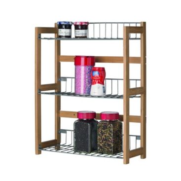 MK Bamboo PALERMO - 3 Tier Kitchen Rack