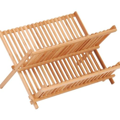 MK Bamboo SALZBURG - Foldable Dish Rack