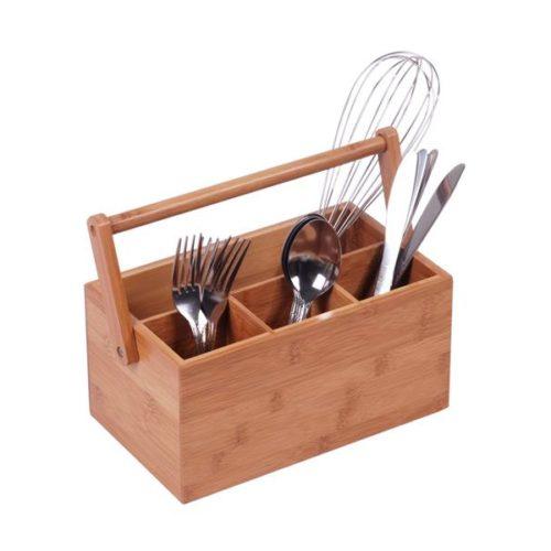 MK Bamboo SEVILLA - Cutlery Caddy