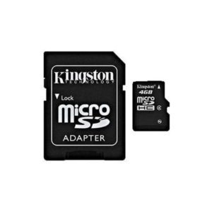 MicroSDHC 16GB Kingston CL4 Blister