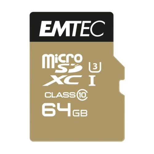 MicroSDXC 64GB EMTEC SpeedIn CL10 95MB