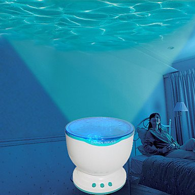 Ocean Water Wave LED Projector with Speaker