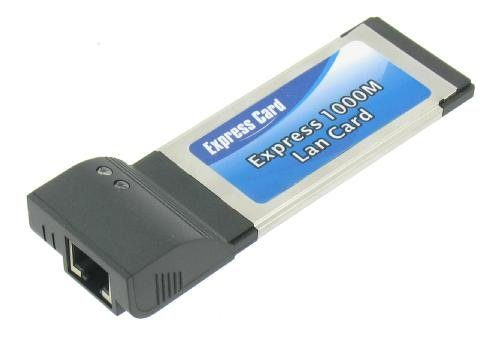PCMCIA Express Gigabit Ethernet Card
