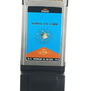 PCMCIA Serial RS-232 DB9 Adapter Card