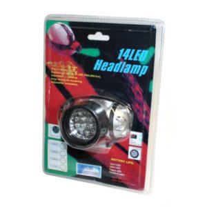 Pocket lamp Headlamp 14 LED