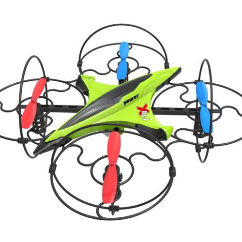 Quad-Copter DIYI D3 2.4G 5-Channel with Gyro (Green)