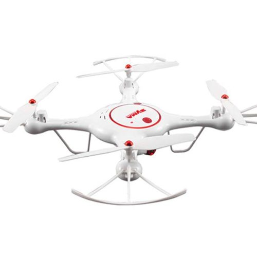 Quad-Copter SYMA X5UC 2.4G 4-Channel with Gyro + HD Camera (White)