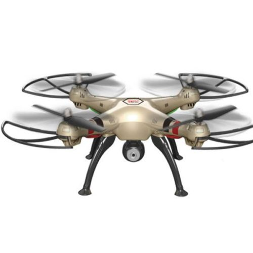 Quad-Copter SYMA X8HW 2.4G 4-Channel with Gyro + Camera (Gold)