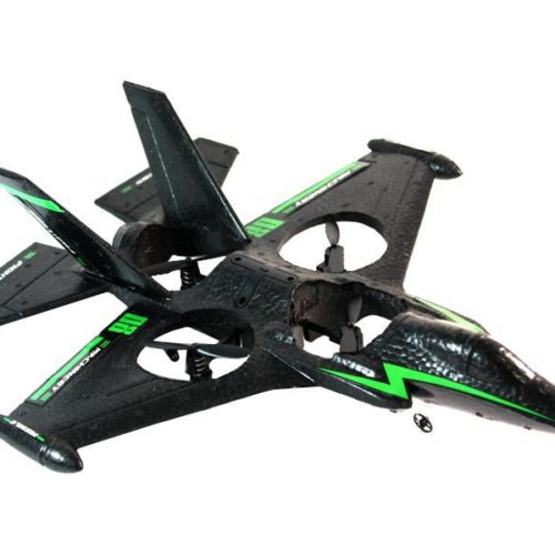 RC Airplane Cherlead Revive Jet 4-Channel with Gyro (Black)