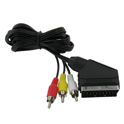 RCA (Composite) to Scart Cable 1.5 Meter