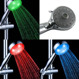 RGB LED Shower Head