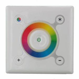 RGB LED Touch Controller for the wall