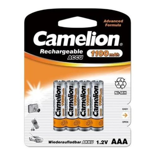 Rechargeable batteries Camelion AAA Micro 1100mAH (4 Pcs)