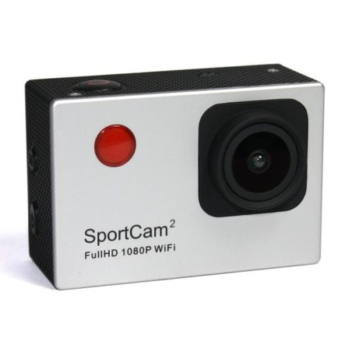 Reekin SportCam2 FullHD 1080P WiFi Action Camcorder (Silver)