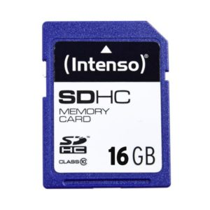 SDHC 16GB Intenso CL10 Blister